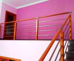 Balustrade inox si lemn preturi ieftine