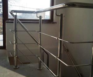 Balustrade din inox pentru scari